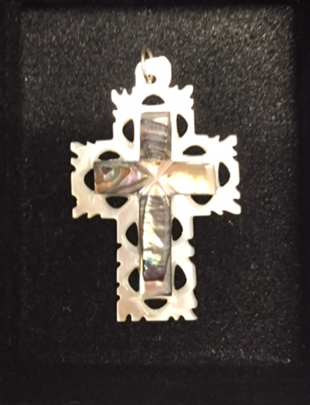 Mother of Pearl Cross A