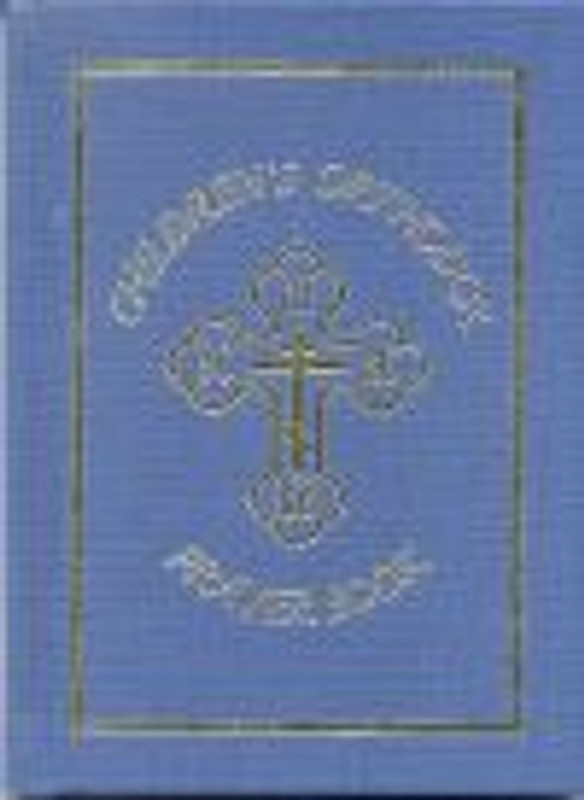 CHILDREN'S ORTHODOX PRAYER BOOK (blue)