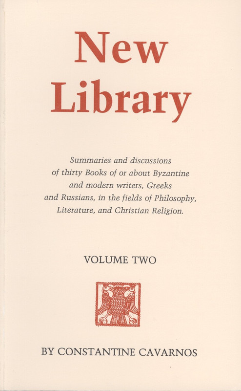NEW LIBRARY, VOL. 2.