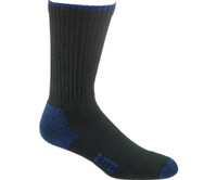 Bates Cotton Comfort Black 3 Pk Large Socks Made in the USA