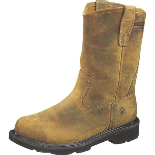 Wolverine W02066 Mens Saturn 10 Inch Steel Toe Electrical Hazard Brown Boot