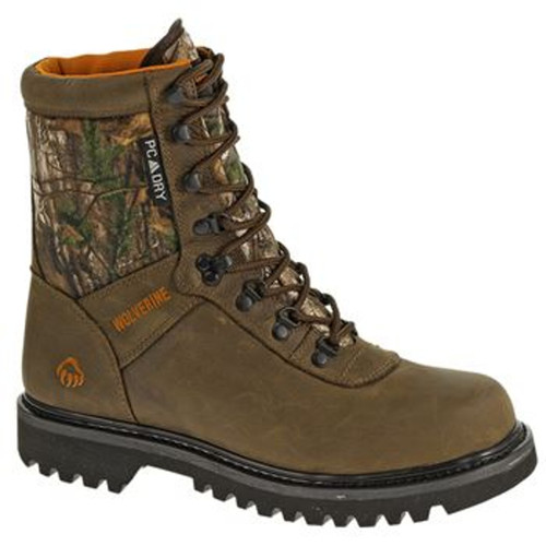 "Wolverine W30090 Mens Big Horn 8"" Waterproof Insulated Hunting Boot"