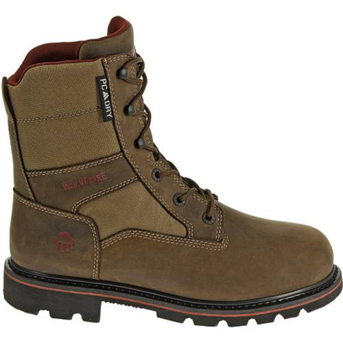"Wolverine W30096 Mens Novack Waterproof Insulated 8"" Hunting Boots"