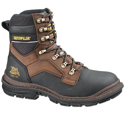 Caterpillar P90014 Mens Generator 8 Inch Waterproof Steel Toe Work Boot