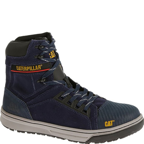 Caterpillar P90576 Womens Bevel Black Steel Toe Work Boot