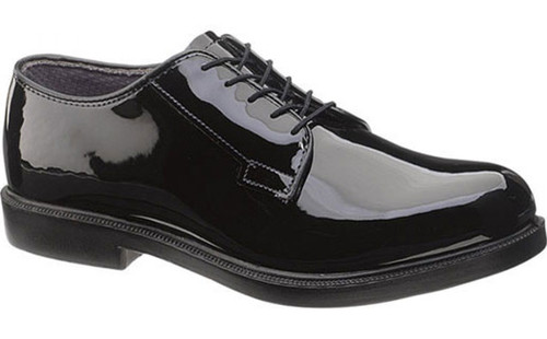 Bates 111-B Mens DuraShocks High Gloss Uniform Shoe