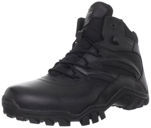Bates 2346-B Mens Delta Side Zip 6 Inch Black Uniform Boot