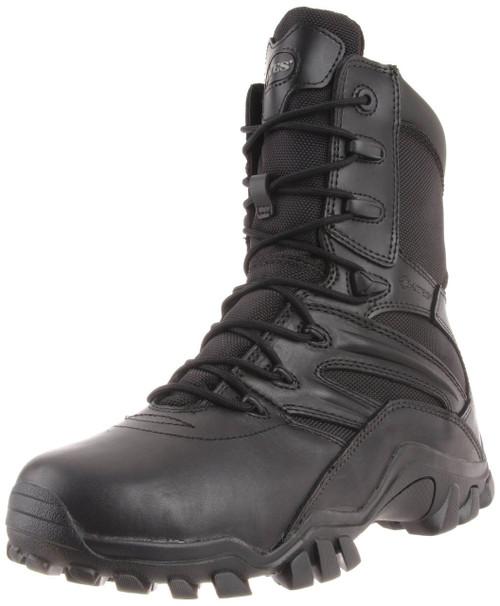 Bates 2348-B Mens Delta Side Zip 8 Inch Black Uniform Boot