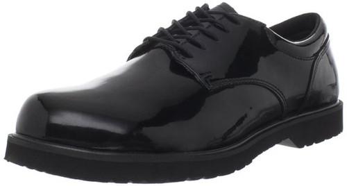 Bates 22141-B Mens High Gloss Duty Oxford Shoes