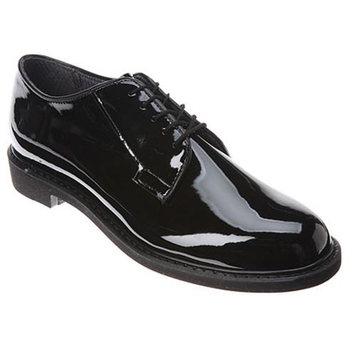Bates 1301-B Mens High Gloss Durashocks Oxford Shoes
