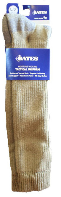 Moisture Wicking Over The Calf Tactical Uniform Olive Mojave Sock 1 Pack