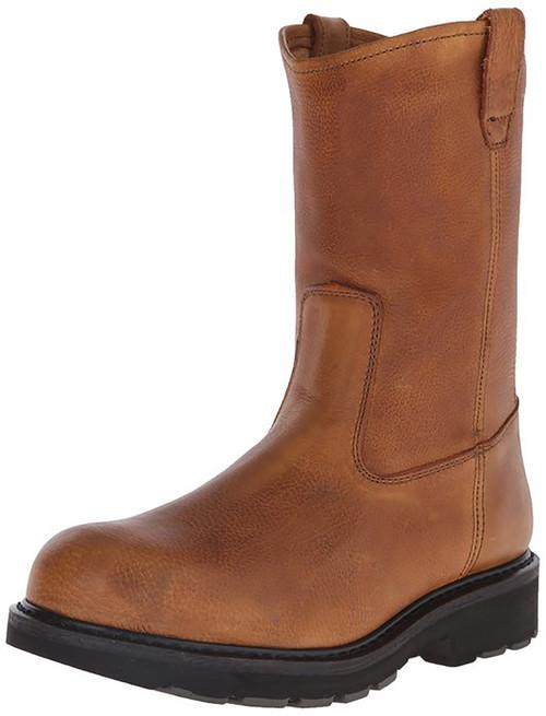 Wolverine W08377 Mens 10 Inch Steel Toe Wellington Herrin Boot