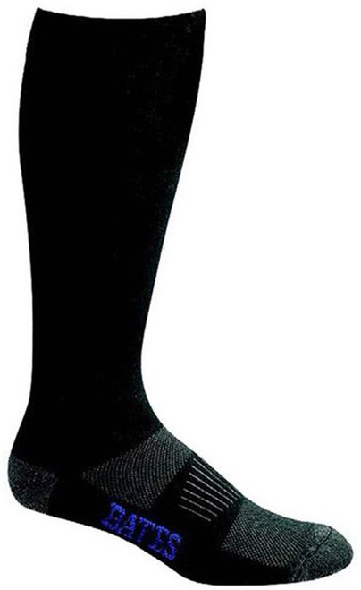 Bates Footwear Ultra Dri All Climate Lightweight/OTC Black 1 Pk Large Socks Made in the USA