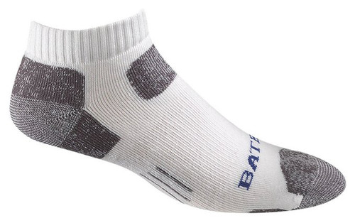 Bates Footwear Low Cut Tactical Uniform White 1 Pk Socks Made in the USA