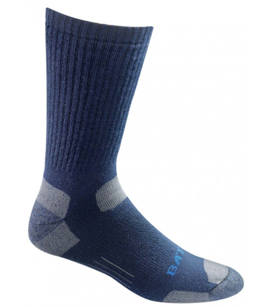 Bates Footwear Tactical Uniform Mid Calf Navy 1 Pk Socks Made in the USA