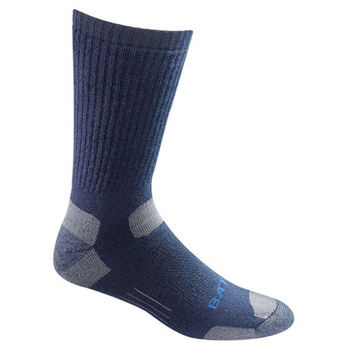 Bates Mens Tactical Over The Calf Navy 1 Pk Large Socks Made in the USA