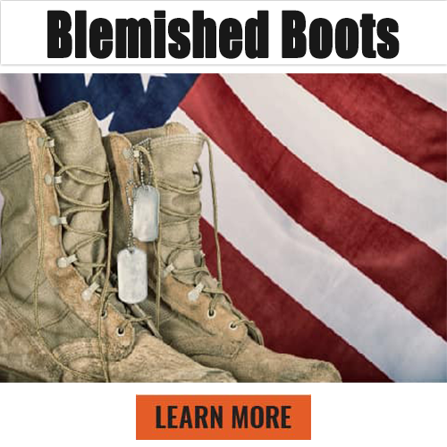 blemished boots