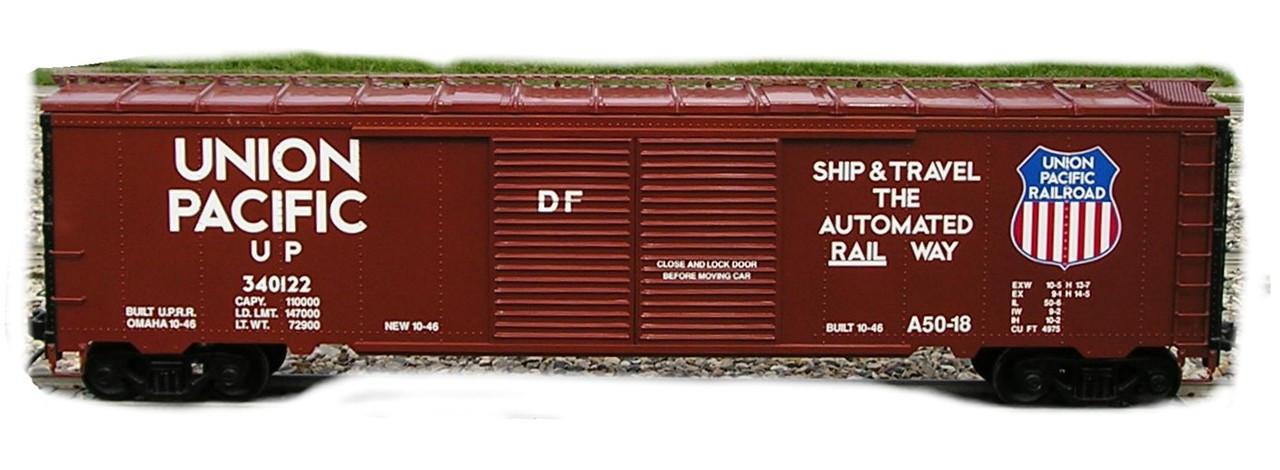 Box Car 50' Series Body (Assembled)