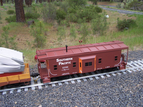 Bay Window Caboose Body (Assembled)