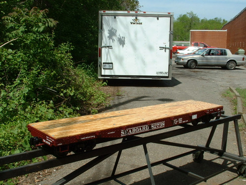 Flat Car 5' Body (Kit)