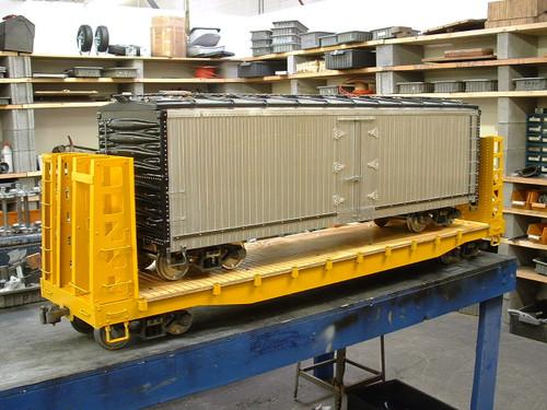 Bulkhead Flat Car (Kit)