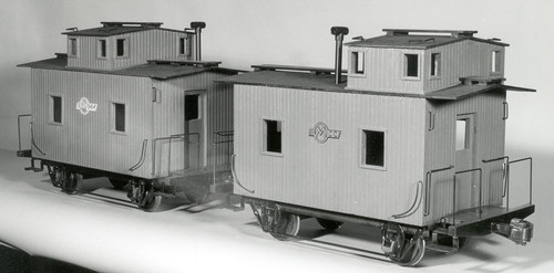 Bobber Caboose End Cupola Body (Kit)