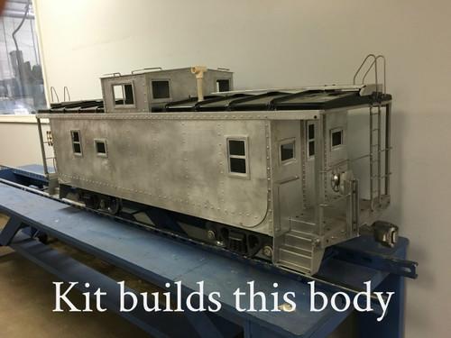 Center Cupola Caboose Body (Kit)