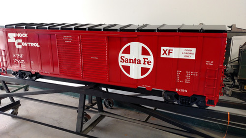 SANTA FE 50' Modern Box Car  READY TO SHIP