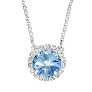 Aqua Glam Party Necklace