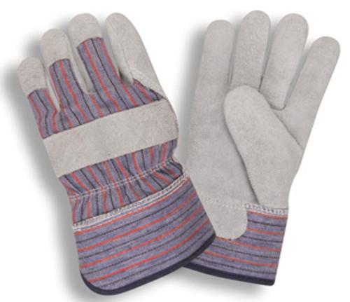7265: Split Cowhide/Fleece Lined Gloves - 12 Pack
