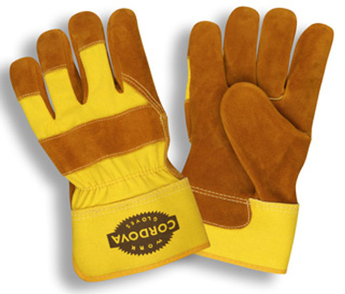 7480: Side Split/Rubberized Cuff Gloves - 12 Pack