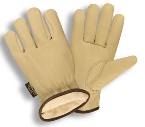 8255: Premium Grain Cowhide/Thinsulate Lined Driver - 12 Pack