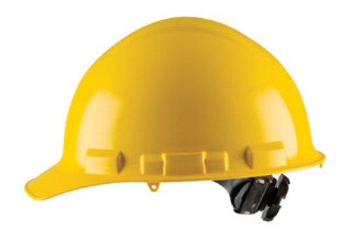 H26R: Duo Cap Style, 6-Point Nylon Ratchet Suspension Safety Helmet