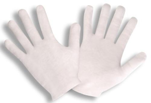 1120L: Medium Weight Lisle Inspector Gloves - 12 Pack