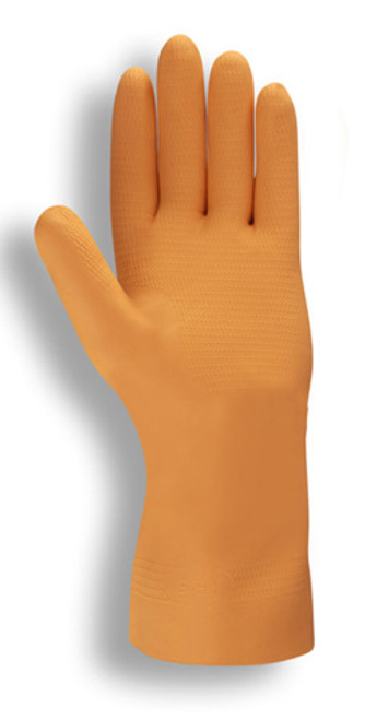 4340: Premium/28-Mil/Orange Neoprene Gloves - 12 Pack