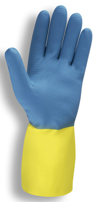 4300: Premium/28 mil/Bi-Color Neoprene Gloves - 12 Pack