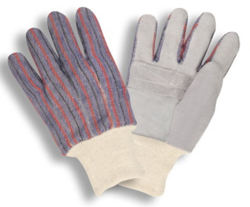 7020: Shoulder Leather/Clute Cut/Patch Palm Gloves - 12 Pack