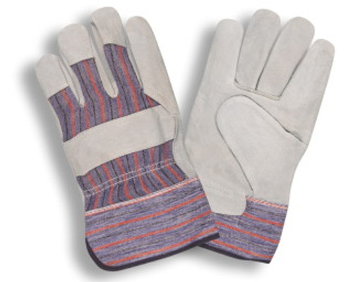 7200S: Shoulder Leather/Starched Cuff Gloves - 12 Pack