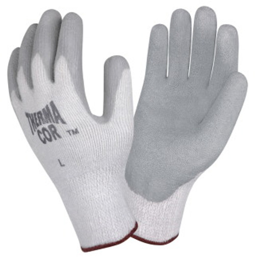 3899: ThermaCor/Latex Palm Coated Gloves - 12 Pack