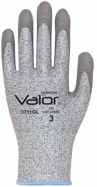3711G: Valor 13 Gauge, Salt and Pepper , Cut Resistant Gloves