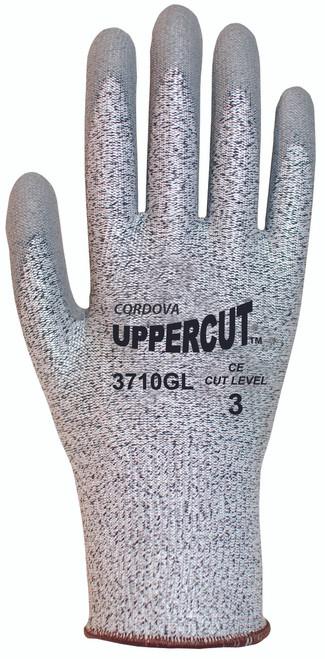 3710G: Uppercut 13 Gauge Salt and Pepper Cut Resistant Gloves