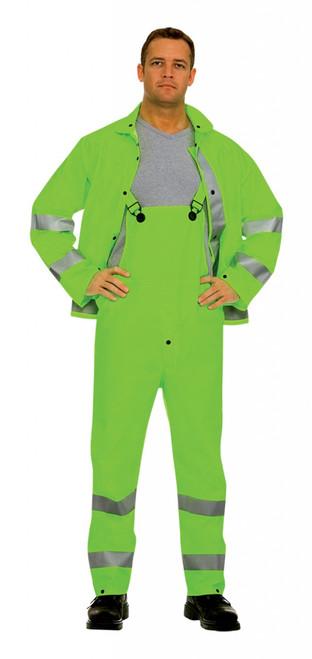 HV353G: Riptide 3-Piece Lime Green Rain Suit