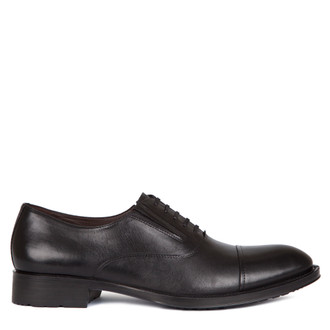 Men's Toe-Cap Classic Oxford Shoes MP 7298517 BLK