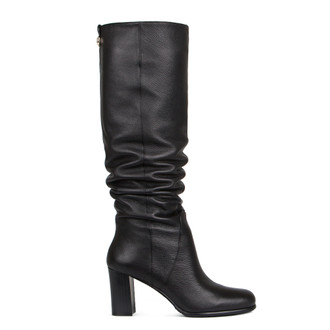 Block Heel Tube Long Boots GD 5473916 BLK