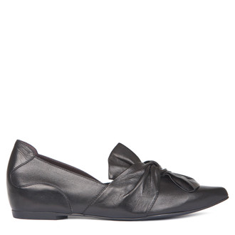 Women's Bow Trim Slip-Ons GP 5221318 BLK