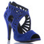 Camila - Open Toe Cutout Heels - Custom Made To Order - B1655