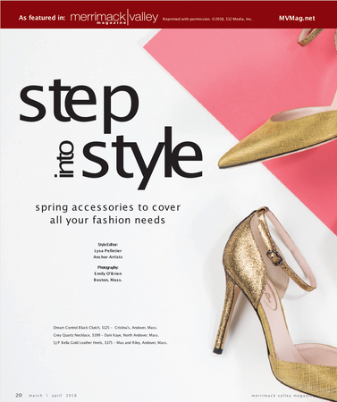 Merrimack Valley Magazine Step into Style Feature