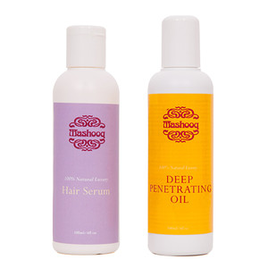 A complete hair care set for hair conditioning treatment and styling.