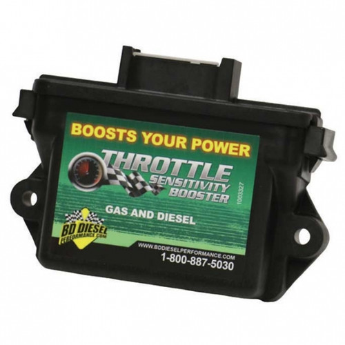 BD-Power 1057732 Throttle Sensitivity Booster 2007-2017 Dodge 5.9L/6.7L Cummins | 2011-2017 Ford 6.7L Powerstroke | 2014-2017 Ram 1500 3.0L EcoDiesel