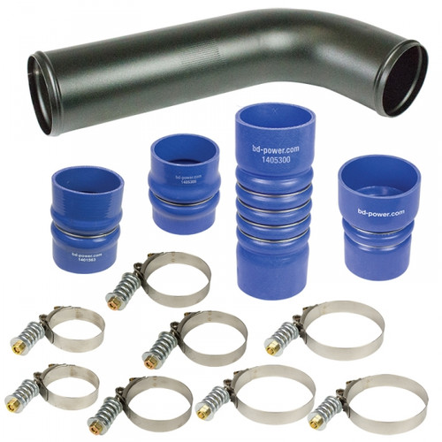 BD-Power 1045217 Intercooler Hose & Clamp Kit 2010-2013 Dodge 6.7L Cummin